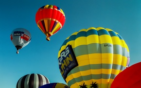 Picture the sky, balloons, flight