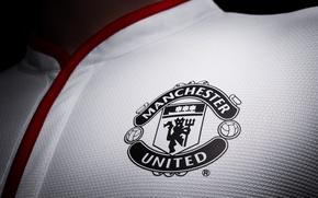Picture T-shirt, Emblem, Football, Club, Manchester United, Manchester United, Club, Football, Sport, Emblem, T-shirt