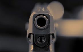 Picture Gun, Death, Pistol, HK P30