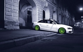 Picture night, the city, audi
