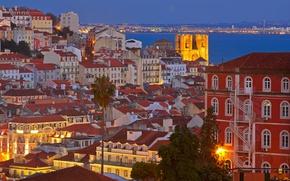 Picture sea, home, Portugal, Lisbon, Alfama