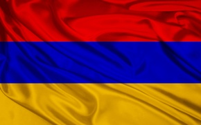 Picture Red, Blue, Flag, Orange, Armenia