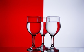 Picture color, glasses, red, white