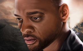 Picture art, actor, Will Smith