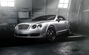 Picture Bentley, Continental, Car, Front, Forged, GTC, Silver, Wheels, Strasse