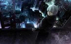 Picture anime, art, Tokyo ghoul, Tokyo Ghoul, Ken Kanek