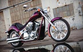 Picture beautiful, custom, powerful, Honda Fury