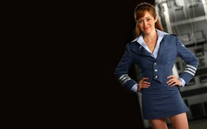 Wallpaper American, Lieutenant, Otem Reaser, in the genre of strategy in real time, Lisette Hunley, Red ...