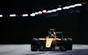 Picture Renault, The tunnel, Formula 1, Monte Carlo, The front, Palmer