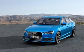 Picture Audi, quattro, blu