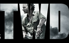 Picture the walking dead, pose, rick