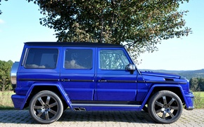 Picture Tuning, DarkBlue, CDI, German Special Customs, Mercedes-Benz G400