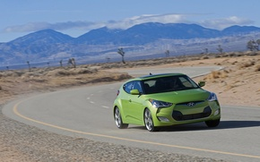 Picture road, mountains, concept, hyundai