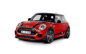 Wallpaper Cooper, mini, white background, Cooper, MINI, AC Schnitzer, F56