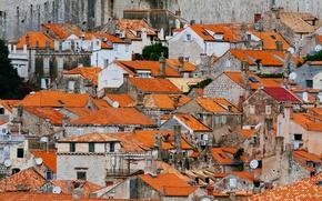 Picture roofs, Croatia, Dubrovnik