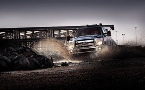 Wallpaper cars cars duty, dirt, auto pictures, Ford, machine, squirt