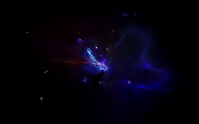 Picture stars, planet, glow, constellation, another nebula