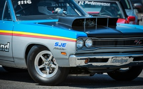 Picture wheel, Dodge, muscle car, the front, drag racing