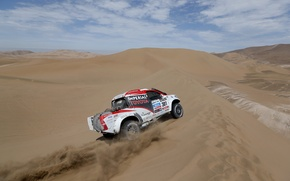 Picture Sand, Turn, Toyota, Hilux, Rally, Dakar, Dakar, Toyota
