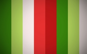 Picture white, red, green, strip, texture, color