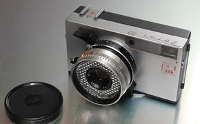 Picture macro, camera, Zorki 10