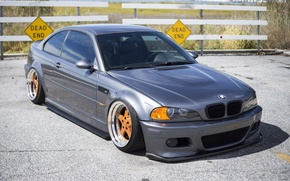 Picture bmw, tuning, germany, low, evil, stance, e46, bad boy, badboy