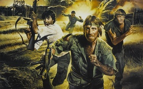Picture Beginning, The Beginning, Chuck Norris, Chuck Norris, Missing 2, Colonel James Braddock, Missing in Action …