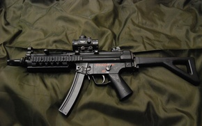 Picture weapons, the gun, MP5, SIG Sauer