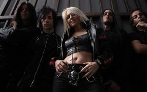 Picture rock, rock, Doro, Warlock