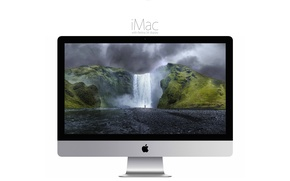 Picture Apple, pixels, display, the most stunningly, And the power, powerful iMac, to do beautiful, yet, ...