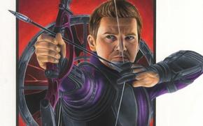 Picture art, Archer, Hawkeye, Jeremy Renner, Clint Barton, Avengers: Age of Ultron