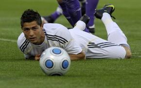 Picture the ball, Football, real, Ronaldo, ronaldo