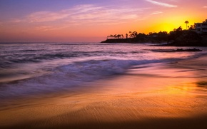 Picture sunset, Laguna Beach, Heisler Park