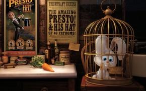 Wallpaper pixar, posters, carrot, hare, presto, cell