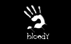 Picture game, minimalism, Bloody, Hi-Tech