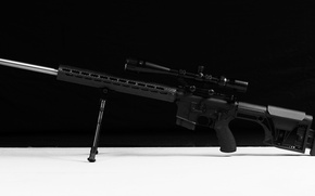 Picture design, background, optics, rifle, assault, AR-15