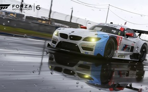 Picture BMW, Rain, Motorsport, Game, Forza, Force 6, Forza Motorsport 6