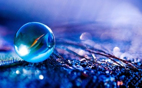 Picture purple, macro, photo, Wallpaper, paint, bright, glass, color, ball, wallpapers