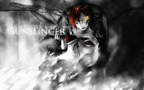 Picture art, School killers, Gunslinger Girl, Weapon Blood & Technology, hisakata souji
