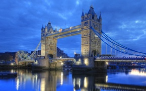 Picture England, London, Thames, tower bridge