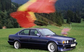 Picture BMW, E34, alphine