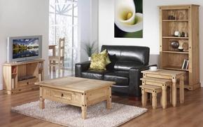 Picture flower, design, style, table, room, sofa, carpet, interior, picture, pillow, TV, Calla, cool, matryoshka