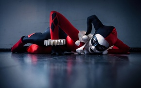 Picture cosplay, comic, Harley Quinn