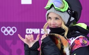 Wallpaper snowboard, snowboard, blonde, Norway, Sochi 2014, Sochi 2014, slopestyle, halfpipe, halfpipe, boardercross, Silje, Norendal, Silje ...
