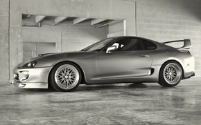 Picture grey, tuning, silver, tuning, Toyota, supra, Toyota supra