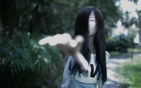 Picture ghost, mood, asian, oriental