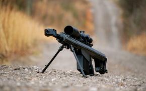 Picture gravel, rifle, sniper, heavy, Barrett M82