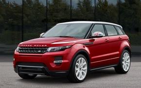 Picture car, range rover, evoque