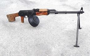 """Picture index 6П2), """"Kalashnikov machine gun"""", (PKK, In 1961, for service received"""