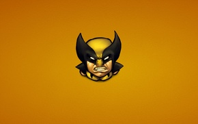Wallpaper anger, minimalism, Wolverine, Logan, x-men, Wolverine, Marvel, x-men, Comics